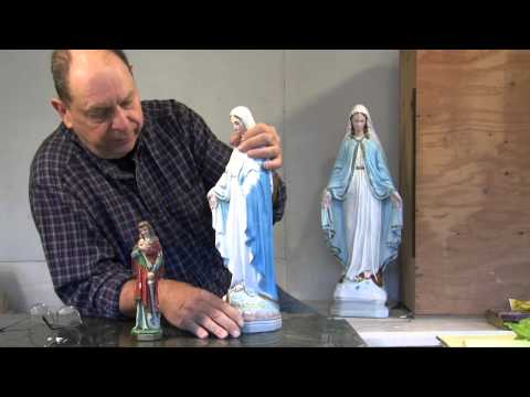 Statuary Restoration - Reassembling, Fixing, Patching, and Painting Broken Statues and Figurines