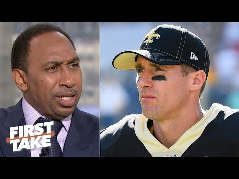 Video: 'The Saints are done without Drew Brees, period!' - Stephen A. | First Take