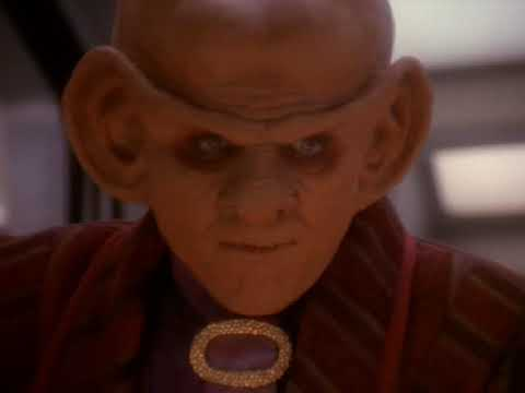 Odo and Quark Alone Aboard A Runabout