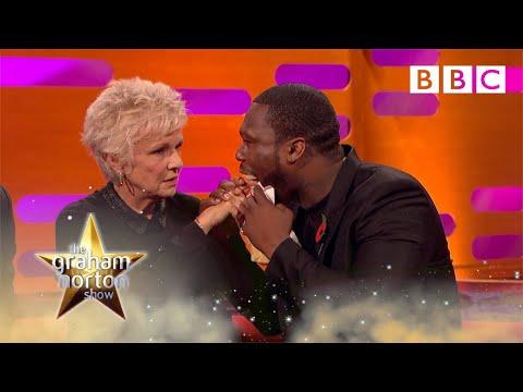Julie Walters feels 50 Cent's gun shot wounds   The Graham Norton Show - BBC