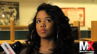 Video Gabi Wilson talks writing her own music, Alicia Keys, recording her debut, being a musician & more MP3, 3GP, MP4, WEBM, AVI, FLV Juli 2018