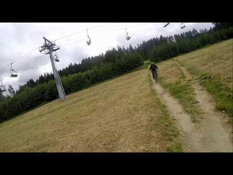 (cz) Bikepark Lipno 2019 červená