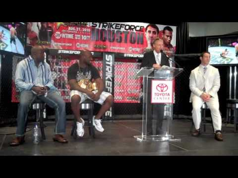 Strikeforce Houston Pre Fight Press Conference  Fighter Introduction