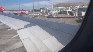 Blagnac France  City pictures : Landing Toulouse Blagnac France airport Air mediterranée A321