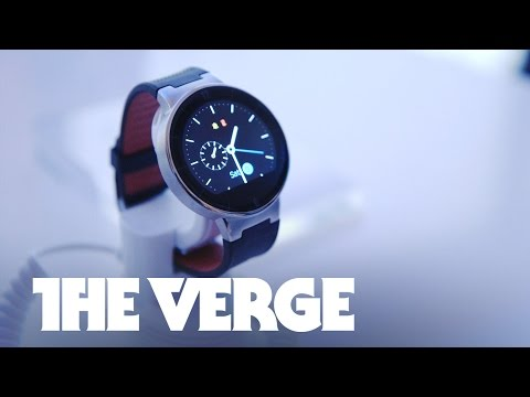 Alcatel Onetouch Watch hands-on — CES 2015