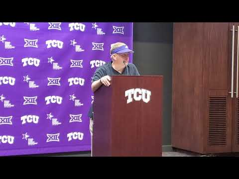TCU HC Gary Patterson discusses loss to Baylor