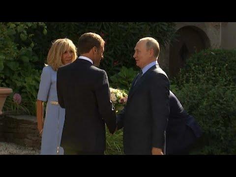 Frankreich/Russland: Putin besucht Macron - neue Ukraine-Verhandlungen in Aussicht gstellt