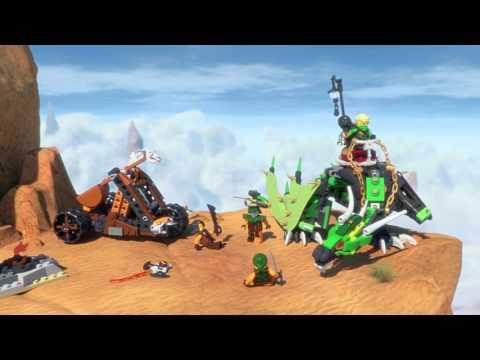 Конструктор Зелёный Дракон - LEGO NINJAGO - фото № 8