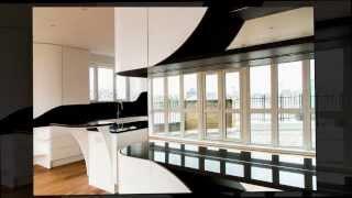 Современный интерьер квартиры в черно белом стиле от студии Atmos