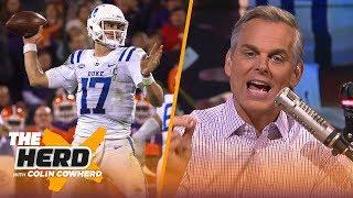 Colin Cowherd begs Giants not to take Daniel Jones, explains how draft busts happen | NFL | THE HERD by Colin Cowherd