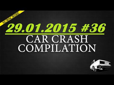 Car crash compilation #36 | Подборка аварий 29.01.2015