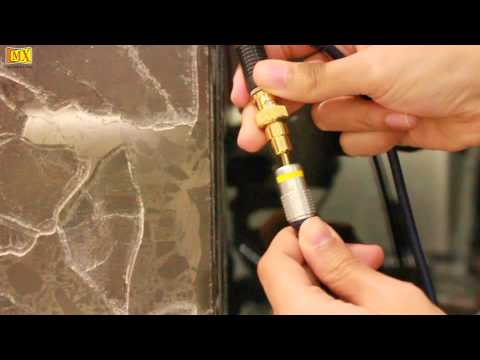 How to use BNC TO RCA Composite Audio Video Adapters