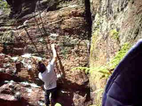 Wafer sit start at Cottage Rocks