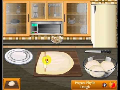 Sara Cooking Games Baklava Online Game