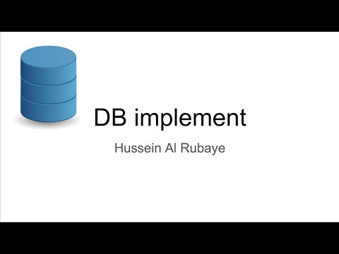 1-What about Database|ماذا عن قواعد البيانات