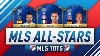 FIFA 17 MLS ALL STARS! (MLS TOTS) Ft. TOTS David Villa, TOTS Giovinco, TOTS Dos Santos, TOTS Kaka, TOTS...