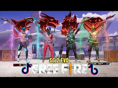Tik Tok Free Fire ( Tik tok ff ) SG 2 Evo,Pro Player,Sultan,Fyp,Viral,Auto Booyah