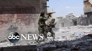 ABC News' Ian Pannell reports from Iraq on the fight for Raqqa, the capital of ISIS, and the impact the battle's outcome may have on Syria as well as Europe and the U.S.