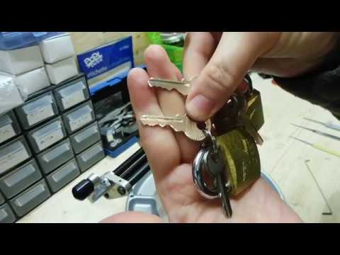 Egret brass padlock spp and how to bend a pick (15)