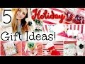 5 Easy & Affordable DIY Holiday Gift Ideas! | HauteBrilliance