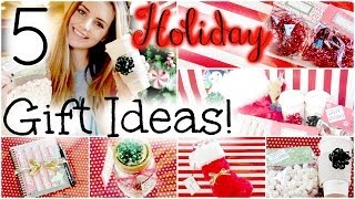 5 Easy & Affordable DIY Holiday Gift Ideas! | HauteBrilliance - YouTube