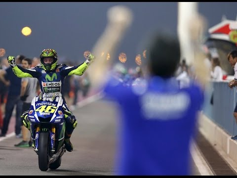 qatar 2015: rossi c'è! incredibile podio tutto italiano!