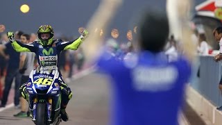 Moto GP Qatar 2015 Valentino Rossi The Winers