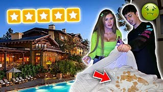 Video Staying at the BEST REVIEWED HOTEL in my City! (we found this...) MP3, 3GP, MP4, WEBM, AVI, FLV Januari 2019