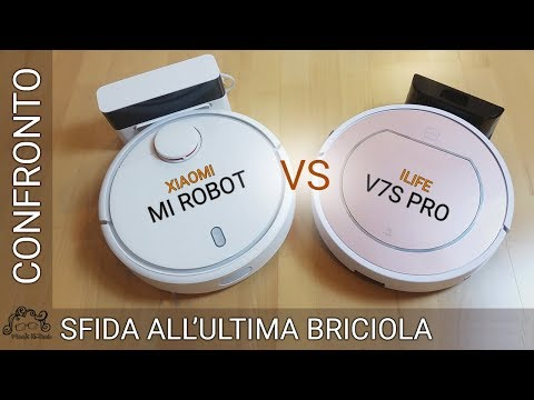 ILife V7s Pro vs Xiaomi Mi Robot - Sfida all'ultima briciola! COUPON SCONTO in descrizione!