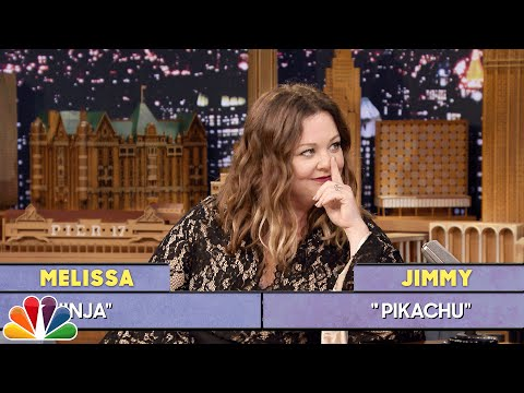 Tonight Show Word Sneak with Melissa McCarthy