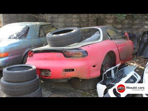 Sports Car Junkyard in Japan looks Painful - autoevolution