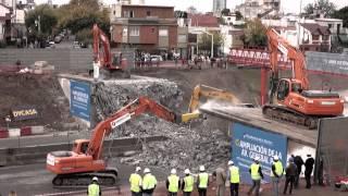 Time Lapses - Demolición del Puente Víctor Hugo - Ampliación de la Av. General Paz