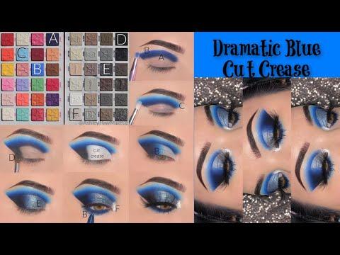 Jawbreaker meets Cremated | Step by Step Blue Cut Crease Tutorial