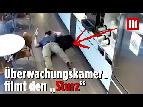 Dreister Versicherungsbetrug fliegt durch Kamera auf