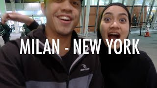 Video Long Flight Bersama Bayi 2 Tahun #3 (Milan - New York) MP3, 3GP, MP4, WEBM, AVI, FLV Januari 2019