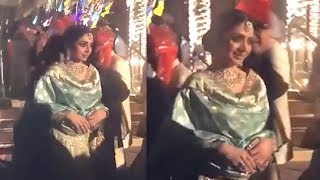 Video Sridevi's Last Video At Family Wedding In Dubai Before PASSING AWAY MP3, 3GP, MP4, WEBM, AVI, FLV Oktober 2018