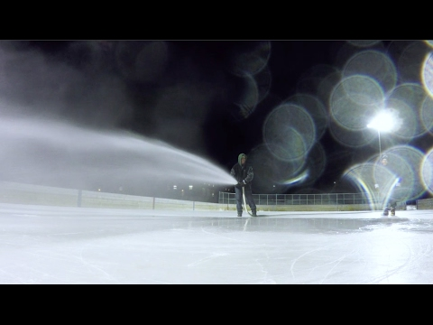 On The Job - Outdoor Ice Rink Maintenance - February 2017
