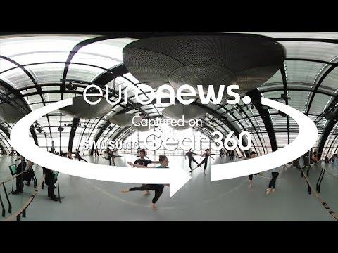 Η μαθηματική γεωμετρία του χορού (βίντεο 360°)