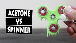 Video ACETONE VS HAND SPINNER FIDGET TOY | EXPERIMENT MP3, 3GP, MP4, WEBM, AVI, FLV Mei 2017