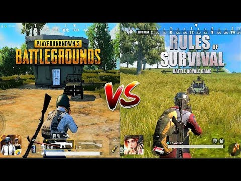 Download PUBG Mobile VS Rules OF Survival Comparison. Which one is best? HD Mp4 3GP Video and MP3