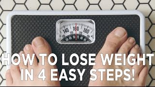 Video How To Lose Weight in 4 Easy Steps! MP3, 3GP, MP4, WEBM, AVI, FLV Januari 2019
