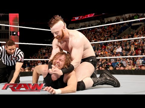 Dean Ambrose Vs. Sheamus: Raw, January 11, 2016