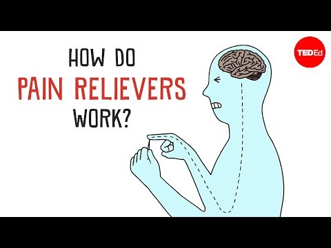 work - View full lesson: http://ed.ted.com/lessons/how-do-pain-relievers-work Some people take aspirin or ibuprofen to treat everyday aches and pains, but how exact...