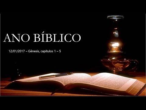 Ano bíblico - Inicio 12/01/2017