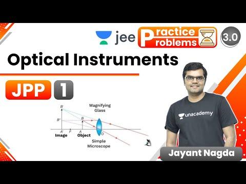 JEE: Optical Instruments JPP – 1   Unacademy JEE   Physics   Jayant Nagda