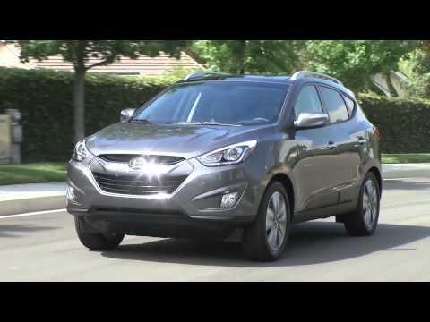 2014 Hyundai Tucson Interior Review | AutoMotoTV