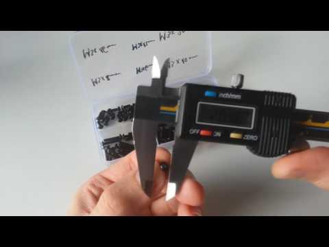 120PCS M3 4-20mm Allen Bolt Hex Socket Head Cap Screw Assorted Kits from Banggood