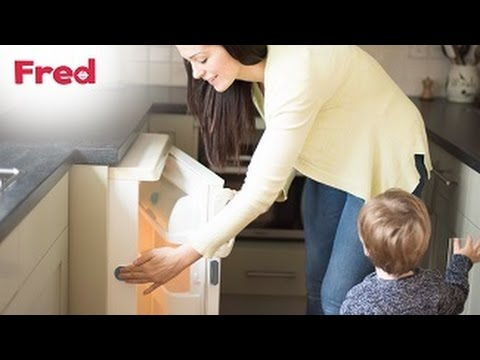 Adhesive Fridge/Freezer Latch You-Can-Do-It Video