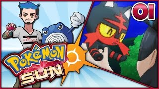 Pokémon  Sun Part 01 | SAY ALOLA TO ALOLA! | Let's Play w/Ace Trainer Liam by Ace Trainer Liam