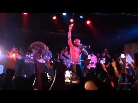 "DMX ""Slippin"" Live @ The Howling Wolf New Orleans 3 13 2014"